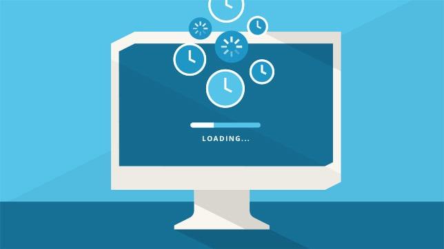 减少网站加载时间
